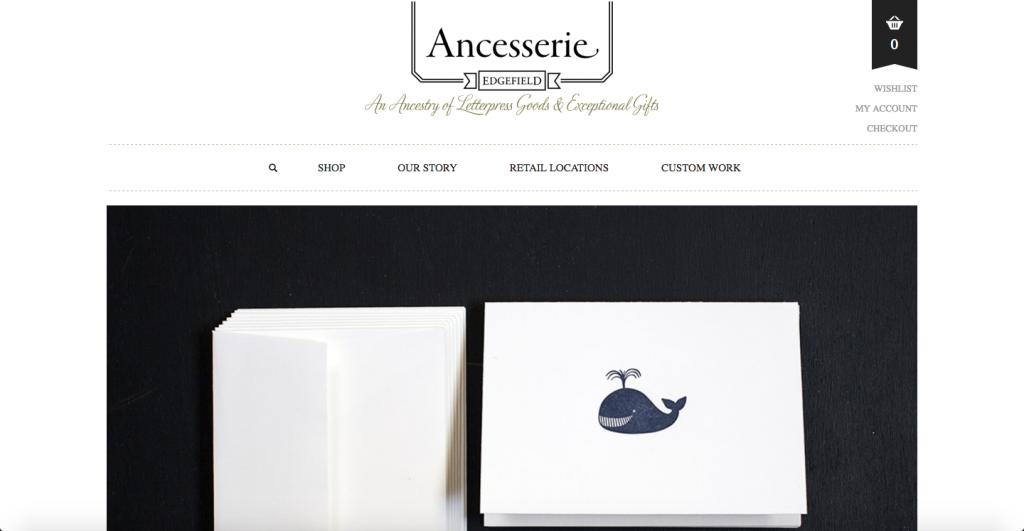 Ancesserie - WEB