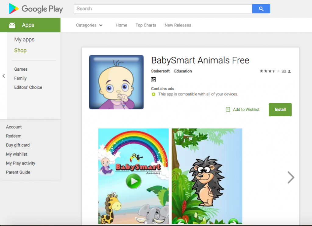 BabySmart - ANDROID