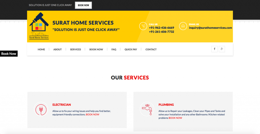 Surat Home Services - WEB