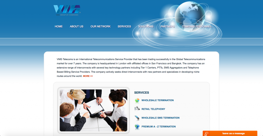 Vmg Telecoms - WEB